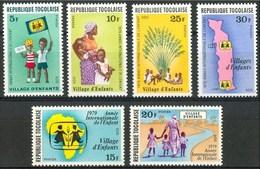 1979 Togo Infanzia Childhood Enfance Cartes MNH** Y55-38 - Togo (1960-...)