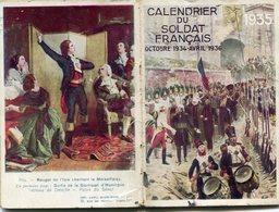 CALENDRIER DU SOLDAT 1934_36(MILITAIRE) - Calendars