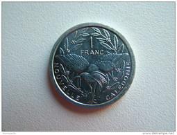 Pièce De 1 Franc De Nouvelle Calédonie Année 2012 !! - New Caledonia