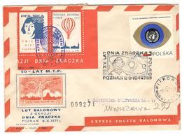 3883 - POZNAN  71 - Poste Aérienne
