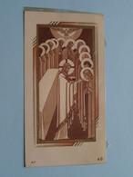 H. Communie ( Cecile VAN GOETHEM ) I/d Kerk Van BURCHT Op 24 Juni 1945 ( Details - Zie Foto ) Met Plastiek ! - Communion