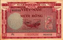 VIET-NAM SUD 10 DONG  De 1955nd  Pick 3a  AU/SPL - Vietnam