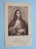 H. Communion Solennell ( André FIERS ) Msr. Coppieters Evêque De GAND Le 12 Mai 1932 ( Details - Zie Foto ) ! - Communion