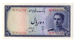 Billet Iran Bank Note 10 Rials 1948  PK 47  AU/SPL - Iran