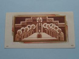 H. Communie ( Robert VAN GOETHEM ) I/d Kerk Te BURCHT Op 29 Maart 1947 ( Details - Zie Foto ) ! - Communion