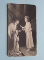 H. Communie ( Denise COLLEWAERT ) I/d Kapel St. Joseph Te LOOCHRISTI Op 10 Juni 1946 ( Details - Zie Foto ) ! - Communion