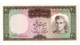 Billet Iran Bank Note 20 Rials 1969 PK 84 A  AU/SPL - Iran
