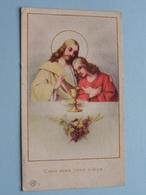 H. Communie ( Etienne PUYLAERT ) I/d Kapel St. Laurentius Te ZELZATE Op 12 Mei 1946 ( Details - Zie Foto ) ! - Communion