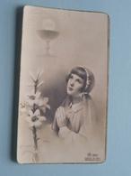 H. Communie ( Hilda DESAEVER ) I/d Kapel Te TIELT 2 Juni 1947 ( Details - Zie Foto ) ! - Communion