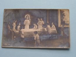 H. Communie ( Marie MAST ) I/d Kerk Te EEKLOO Op 7 April 1935 ( Details - Zie Foto ) ! - Communion