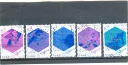 2017 JAPON Y & T N° Xxxx à Xxxx ( O ) Asian Winter Games - 1989-... Emperador Akihito (Era Heisei)