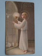H. Communie ( Madeleine D'HAENE ) I/d Kerk Te OOTEGEM Op 18 Maart 1934 ( Details - Zie Foto ) ! - Communion