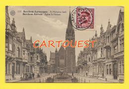 Anvers - Antwerp  St Hubertus Kerk, église Saint Hubert 1931 Animée Auto Et Personnages - Antwerpen