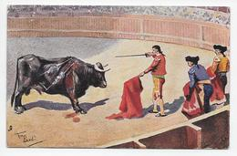 Frank Dean - A Bull-Fight - Tuck Oilette 6674 - Corrida