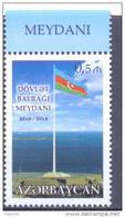2015. Azerbaijan, National Flag, 1v, Mint/** - Azerbaïjan