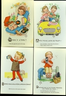 Beau Lot De 19 Cartes Postales De Fantaisie Illustrateur Mabel Lucie Attwell     Mooi Lot Van 19 Postkaarten  Fantasie - Postcards
