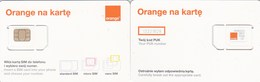 Poland - Orange (standard, Micro, Nano SIM) - GSM SIM  - Mint - Poland