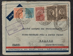 AEROPOSTALE - BRESIL - BRASIL / 1932 LETTRE POUR LA FRANCE - GRASSE - VIA MARSEILLE (ref LE2367) - Briefe U. Dokumente
