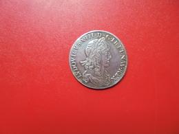 """LOUIS XIII. DEMI-ECU 1642 """"A"""" PARIS. 1er Poinçon De Varin. BELLE QUALITE. - 1610-1643 Louis XIII Le Juste"""