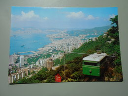 CHINE HONG KONG'S PEAK TRAM SERVING PEAK RESIDENS & SIGHTSEERS - China (Hong Kong)