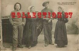 56 ☺ ♥♥ BELLE ILE En MER - RARE < MARIN PECHEUR < JOYEUX RETOUR De PECHE - N° 1901 VILLARD - Belle Ile En Mer