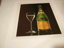 ANCIENNE PUBLICITE LE CHAMPAGNE VEUVE CLIQUOT PONSARDIN 1978 - Alcohols