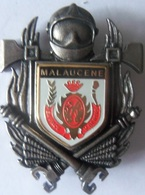 INSIGNE SAPEURS POMPIERS  MALAUCENE - Firemen