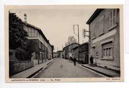 - CPSM AMBERIEUX-EN-DOMBES (01) - La Poste 1946 - Collection Rognard - - Francia