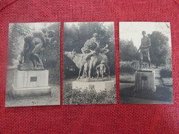 MORLANWELZ - MARIEMONT - Lot De 9 Cartes: Statues Du Château De Mariemont - Morlanwelz