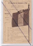 21e Bataillon De Chasseurs à Pied -Son Drapeau -Historique Des Chasseurs à Pied De 1871 à 1919 - Régiments