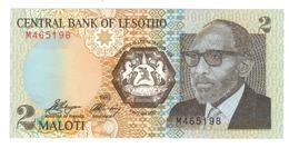 Lesotho 2 Maloti, 1989, UNC. - Lesotho