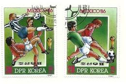 1985 - Corea Del Nord 1803 Mondiali Di Calcio - Coppa Del Mondo