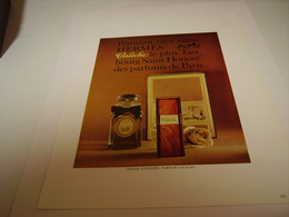 ANCIENNE AFFICHE  PUBLICITE PARFUM CALECHE DE HERMES 1964 - Perfume & Beauty