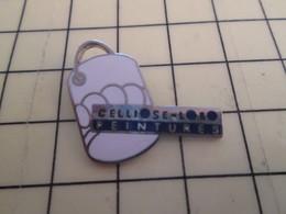 Sp01 Pin's Pins / Rare Et Beau THEME MARQUES / PEINTURE POT CELLIOSE-LOBO - Medias