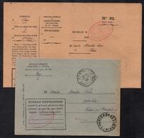 MONTBOZON - HAUTE SAONE / 1933 LETTRE EN FRANCHISE (ref LE2380) - France