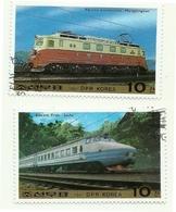 1987 - Corea Del Nord 1890/91 Treni - Treni