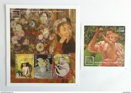 Nevis 2014** Klb.2981-83.+Bl.359. World Famous Paintings MNH [16;123] - Kunst