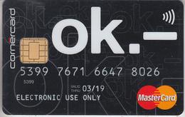 CARTE BANQUE *  CARD CASH   ***  PORTE-MONNAIE ELECTRONIQUE & MASTERCARD   *** - Geldkarten (Ablauf Min. 10 Jahre)
