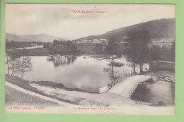 REMIREMONT : La Moselle Près De La Vanne. Publicité Miel Des Vosges Reaux Au Dos. 2 Scans. Edition Weick - Remiremont