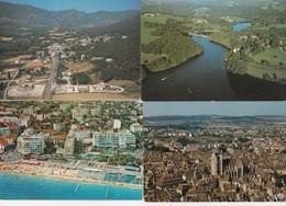 50 Cartes--vues Aeriennes De France---cpm Couleur - Postcards