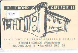 NEDERLAND CHIP TELEFOONKAART CRE 303 *  SGB  *  Telecarte A PUCE PAYS-BAS * ONGEBRUIKT MINT - Netherlands