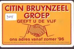 NEDERLAND CHIP TELEFOONKAART CRE 304b 1995 *  Citin Bruynzeel *  Telecarte A PUCE PAYS-BAS * ONGEBRUIKT MINT - Netherlands