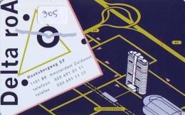 NEDERLAND CHIP TELEFOONKAART CRE 305 *  DELTA ROA *  Telecarte A PUCE PAYS-BAS * ONGEBRUIKT MINT - Netherlands