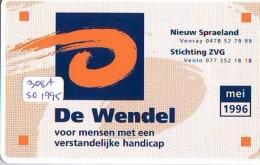 NEDERLAND CHIP TELEFOONKAART CRE 308 1994 *  De Wendel *  Telecarte A PUCE PAYS-BAS * ONGEBRUIKT MINT - Netherlands