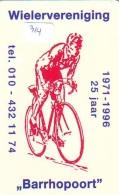 NEDERLAND CHIP TELEFOONKAART CRE 314 * WIELRENNEN * CYCLING  *  Telecarte A PUCE PAYS-BAS * ONGEBRUIKT MINT - Sport