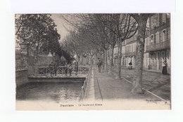 Pamiers. Le Boulevard Alsace. Enfants...(2982) - Pamiers