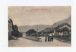 Les Pyrénées Ariégéoises. Ussat Les Bains. Avenue De La Gare.  (2983) - France