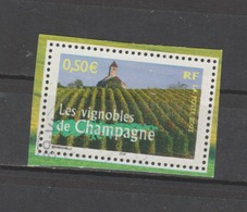 "FRANCE / 2003 / Y&T N° 3561 : ""France à Vivre N° 1"" (Vignobles De Champagne) - Choisi - Cachet Rond - Gebruikt"