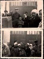!  2 Fotos, Photos 2.Weltkrieg Menschen In Witebsk, Wizebsk, Weißrußland - Weißrussland