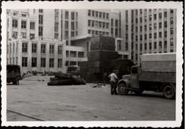 !  Foto, Photo 2.Weltkrieg Minsk, Weißrußland, Lenindenkmal - Weißrussland